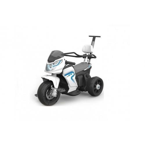 Электромотоцикл для детей JJ, белый