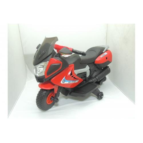 Детский мотоцикл на аккумуляторе JJ, красный