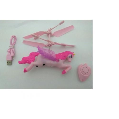Игрушка на пульте летающая лошадка Пегас (15 см)