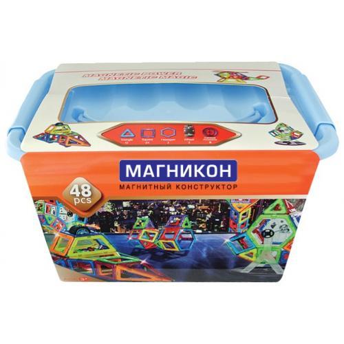 Магнитный 3D конструктор Магникон MK-48