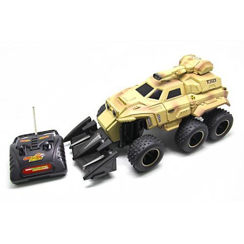 Радиоуправляемая военная машина монстр (6 колес, 44 см)