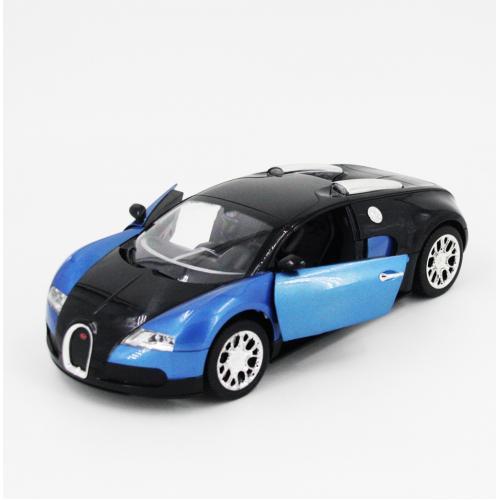 Радиоуправляемая машина Bugatti 1:14 (открываются двери, 30 см, свет)