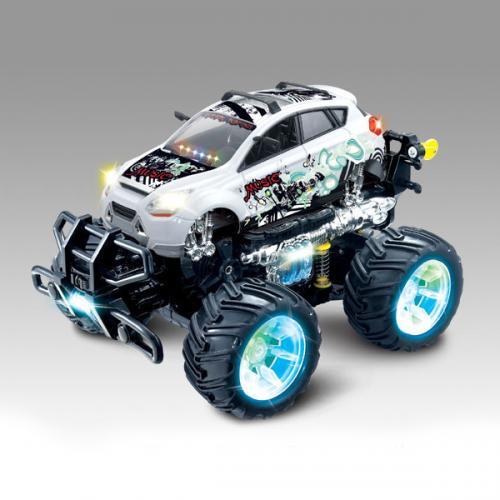Радиоуправляемая машина перевертыш Acrobatic Dancing Car 1:14 - 333-513B (свет, звук, 30 см)