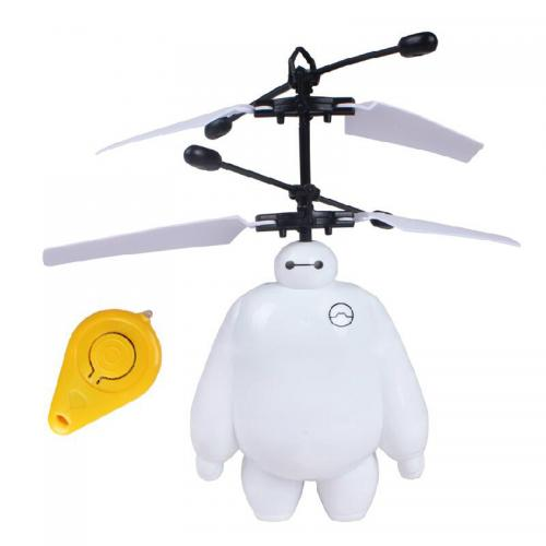 Радиоуправляемая игрушка-вертолет робот Бэймакс (свет, 14 см)
