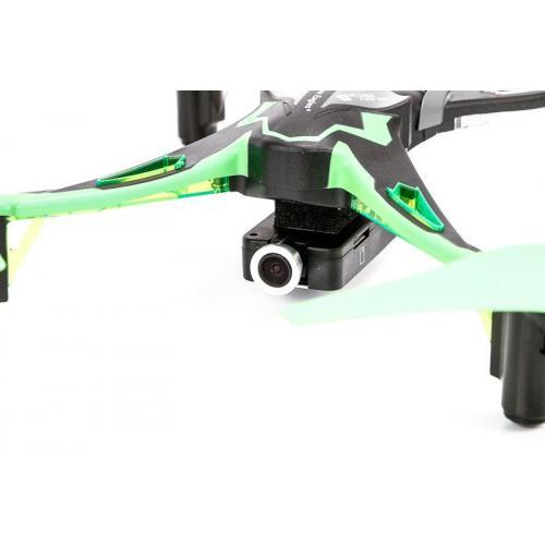 Квадрокоптер радиоуправляемый с камерой Galaxy Visitor 6  FPV (24 см, трансляция на смартфон)