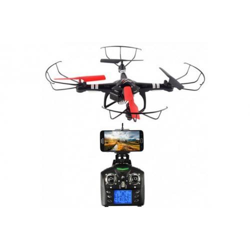 Радиоуправляемый квадрокоптер WL Toys Q222C с камерой (видео на телефон, 27 см)