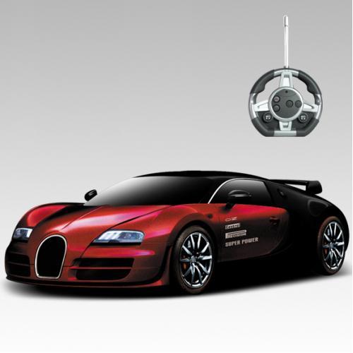 Радиоуправляемый конструктор-машина Bugatti Veyron - 2028-1F03B
