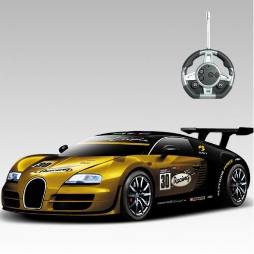 Радиоуправляемый конструктор -машинка Bugatti Veyron Sport - 2028-1S03B