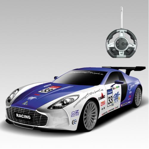 Радиоуправляемый конструктор -машина Aston Martin