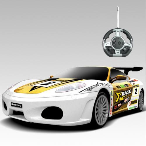 Радиоуправляемый конструктор - машина Ferrari Sport - 2028-1S08B
