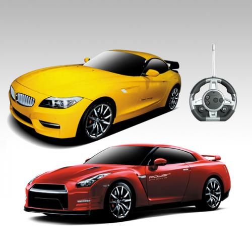 Конструктор на радиоуправлении - машинки BMW и Nissan