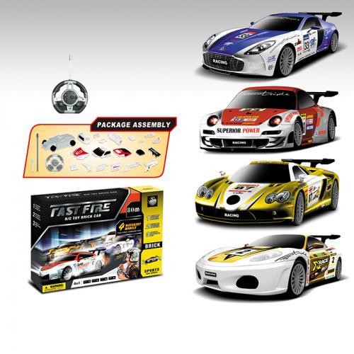 Радиоуправляемый конструктор - спортивные машины Mclaren, Ferrari, Aston Martin и Porsche - 2028-4S02B