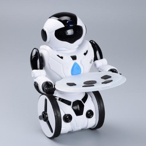 Робот радиоуправляемый KiB 2.4G (танцует, боксирует, команды с руки, свет, ездит, 22 см)