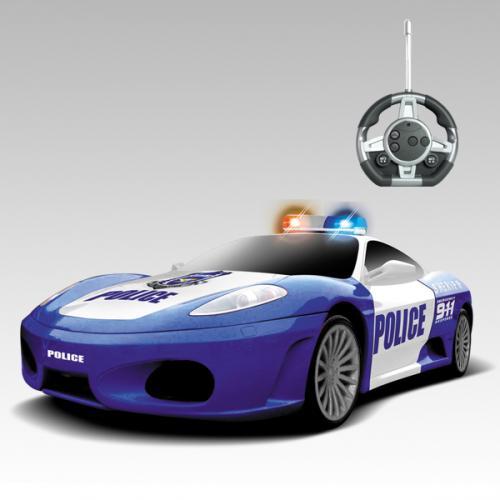 """Радиоуправляемый конструктор - 1 машинка Ferrari """"Полиция"""""""