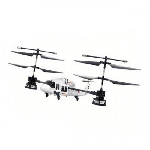 Радиоуправляемый вертолет-перевертыш Happy Cow Stunt Pilot (46 см, до 70 м)