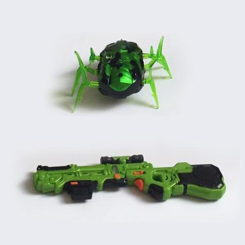 Лазерный пистолет с мишенью (инфракр., звук, вибрация)