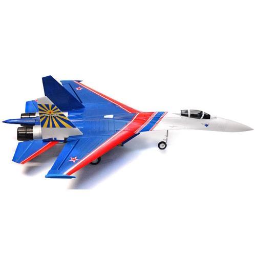 Радиоуправляемый самолет Art-tech Su-27 Warrior с электрич. шасси 2.4G - 2109F (размах 80 см)