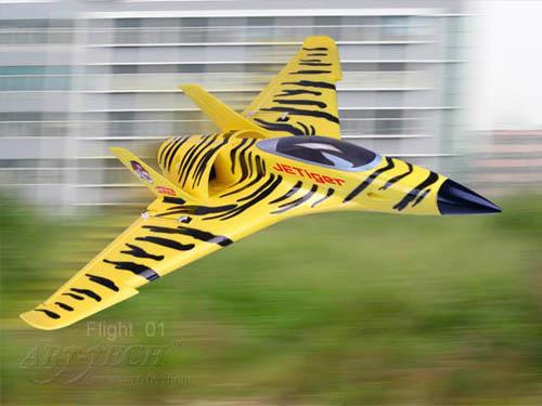 Самолет радиоуправляемый Art-tech Jetiger - 2.4G 22072 (LI-PO, размах 82 см)