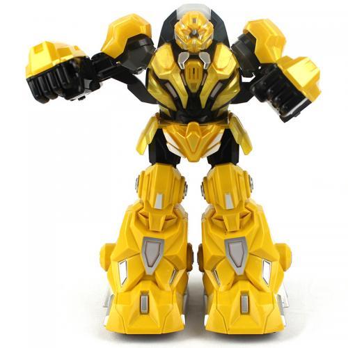 Радиоуправляемый боевой робот для бокса Real Hero (звук, свет, 22 см, 2 режима)