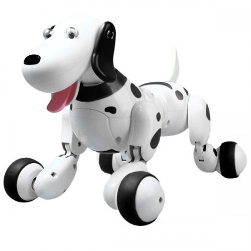 Радиоуправляемая собака-робот (звуки, аккум., 28 см, до 15 м)