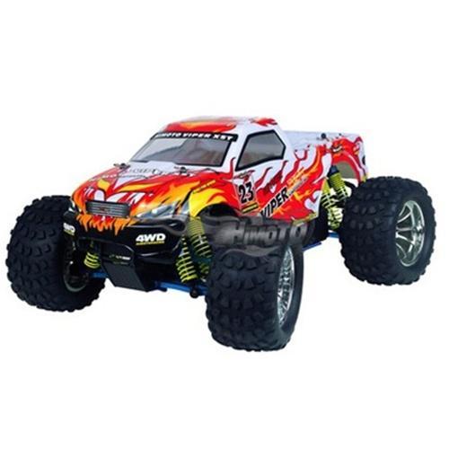 Радиоуправляемый джип с ДВС Nitro Off Road Monster 1:10 2.4G (42 см, нитро)