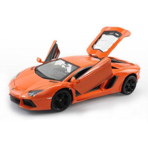 Машинка радиоуправляемая Lamborghini Aventador 1:24 (металлич., 20 см, аккум.)