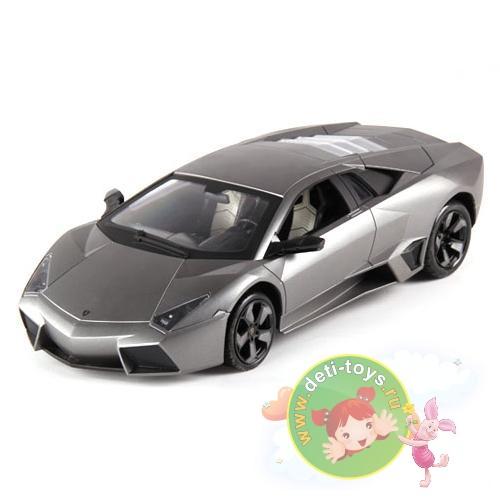 Машина радиоуправляемая Lamborghini Reventon 1:24 (металлич., 20 см, аккум., лицензия)