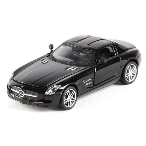 Машина радиоуправляемая Mercedes-Benz SLS AMG 1:24 (металлич., 20 см, аккум., лицензия)