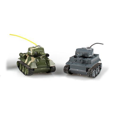 Мини танковый бой на радиоуправлении Battle Tank (ИК-пушки, 2 танка, 2 пульта)