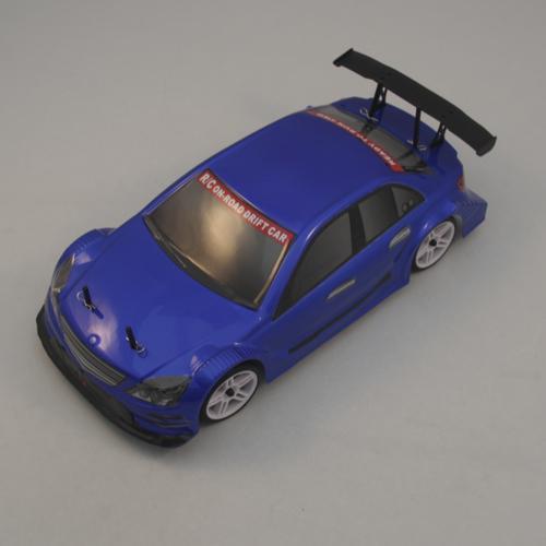 Радиоуправляемый автомобиль Mercedes синий 1:10 4WD 2,4GHz (электро, 60 км/ч, 40 см)