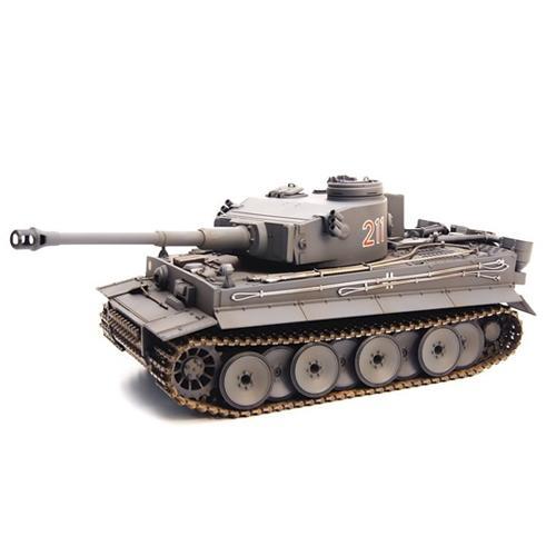 Танк радиоуправляемый Тигр/Tiger 2.4G 1:24 (пневмопушка, 35 см, светодиоды)