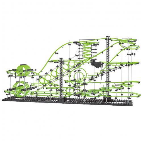 Динамический конструктор Космические горки, новая серия, светящиеся рельсы, уровень 8 - 233-8G