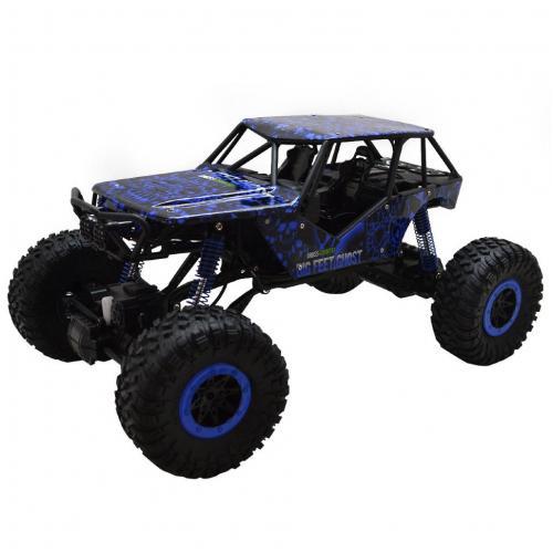 Радиоуправляемый краулер Rock Crawler 4WD RTR 1:10 2.4G синий (43 см)