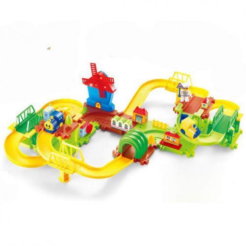 Детский автотрек-железная дорога Happy Commander - HC1601