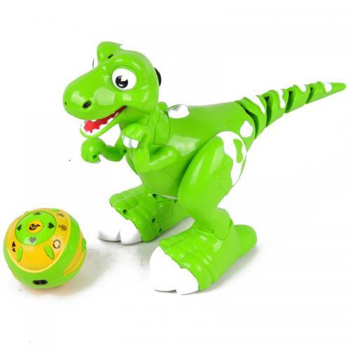 Радиоуправляемый интерактивный динозавр с паром