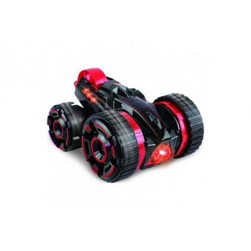 Радиоуправляемая машина-перевёртыш трюковая 5 колёс (29 см)