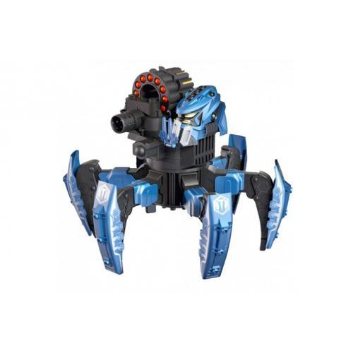 Робот-паук на пульте (лазер, ракеты) (красный, синий) + АКК и ЗУ Wow Stuff 9002-1