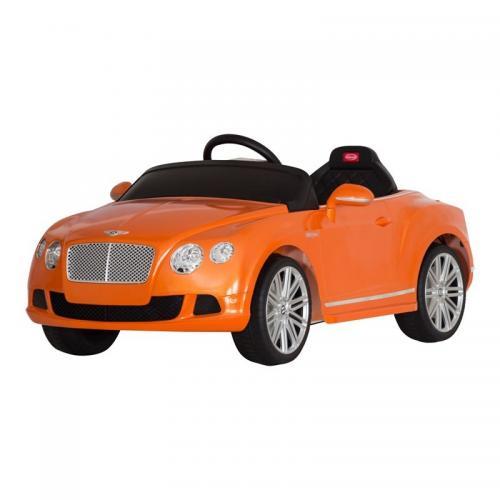 Радиоуправляемый электромобиль Rastar 82100 Bently Continental GTC 12V оранж. (120 см)