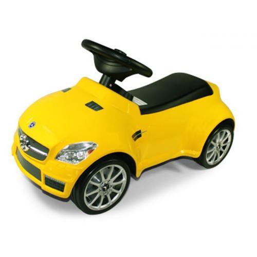 Детская машинка-каталка Rastar 82300 Мерседес SLK 55 AMG желтая (65 см)