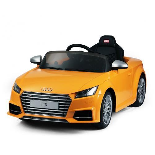Радиоуправляемый электромобиль Rastar 82500 Audi TTS Roadster 12V 2.4G (желтый, 121 см)