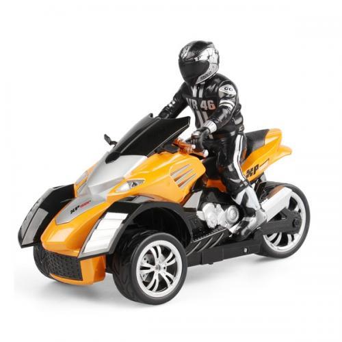 Радиоуправляемый мотоцикл Трицикл 1:10 - YD898-T54 (свет, 28 см, аккум.)