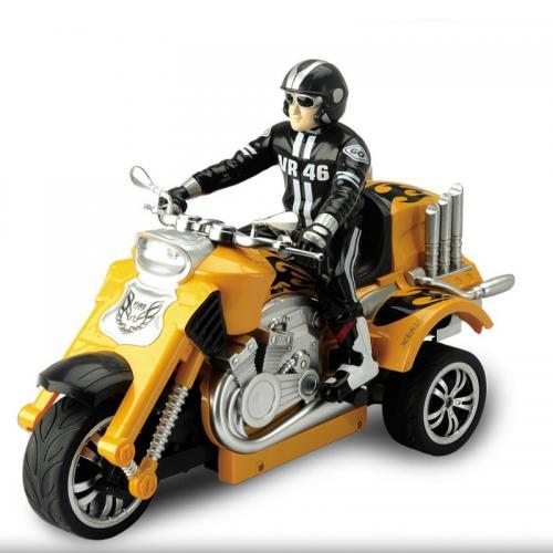 Радиоуправляемый мотоцикл Трицикл 1:10 T58 (свет, 28 см, аккум.)