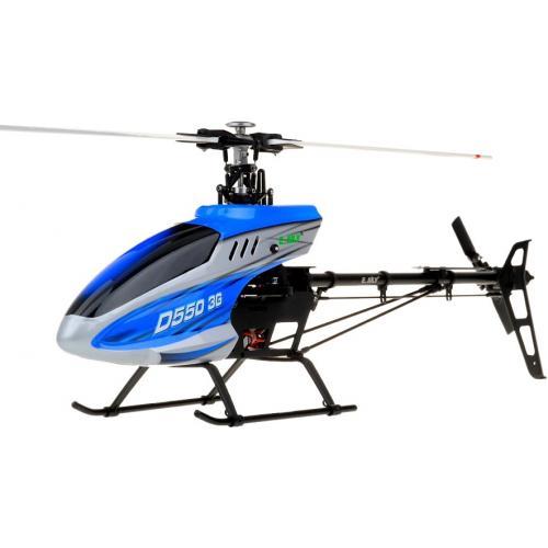 Радиоуправляемый вертолет E-sky DTS550 RTF - 003735 (профи, 6 каналов, 45 см)
