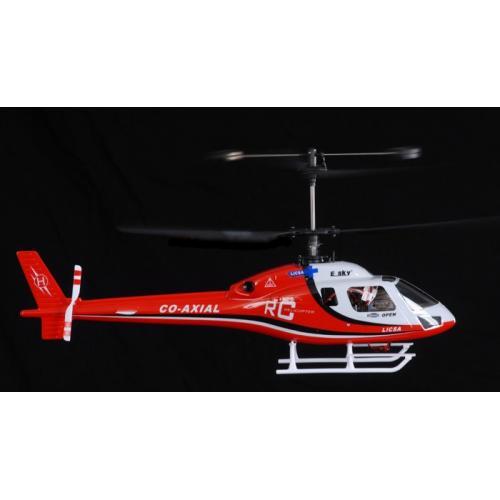 Радиоуправляемый вертолет E-sky Big Lama Red - 003912 (4 канала, 51 см)