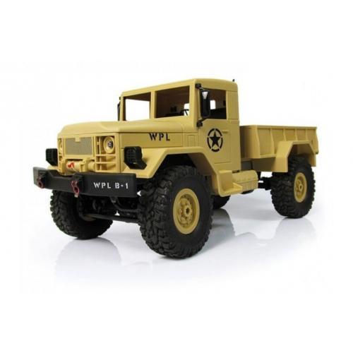 Радиоуправляемая машина WPL военный грузовик масштаб 1:16 + акб 2.4G WL Toys B-14