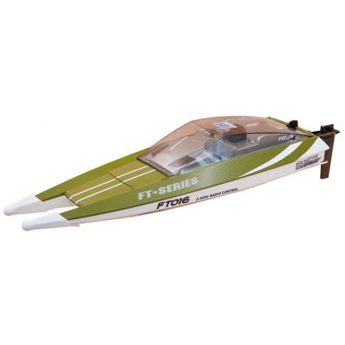 Радиоуправляемый катер Feilun FT016 Racing Boat Green RTR 2.4G - FT016