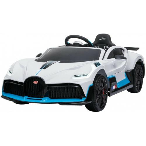 Детский электромобиль Bugatti Divo 12V белый