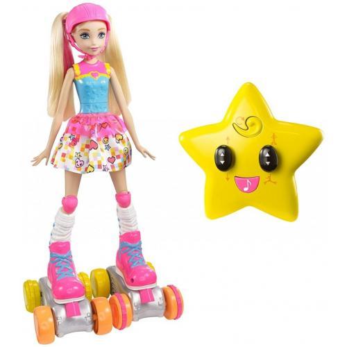 Кукла на роликах с пультом управления