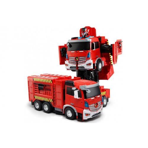 Радиоуправляемый робот-трансформер Пожарная