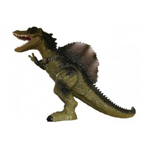 Робот динозавр на радиоуправлениис паром 5333